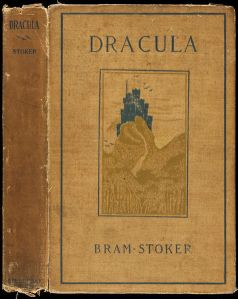 1899 First American Edition of Dracula, Doubleday & McClure, New York.